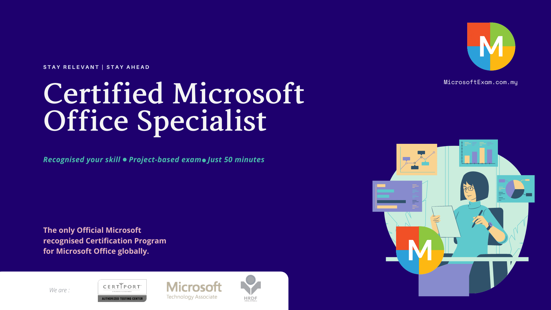 to review Certified Microsoft Office Specialist